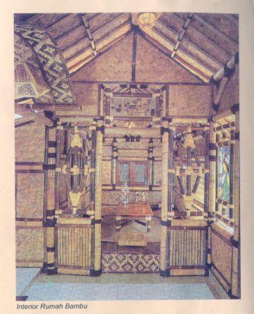 Interior RumahBambu